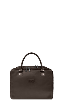 Lipault Lady Plume Laptop Bailhandle 15.6' Chocolate