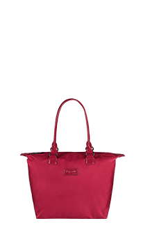 Lipault Lady Plume Tote Bag S  Amaranth Red
