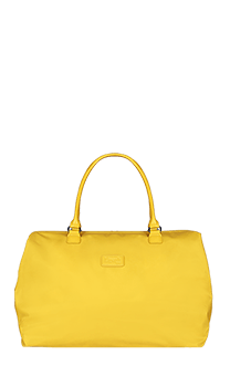 Lipault Lady Plume Weekend Bag M  Saffron Yellow