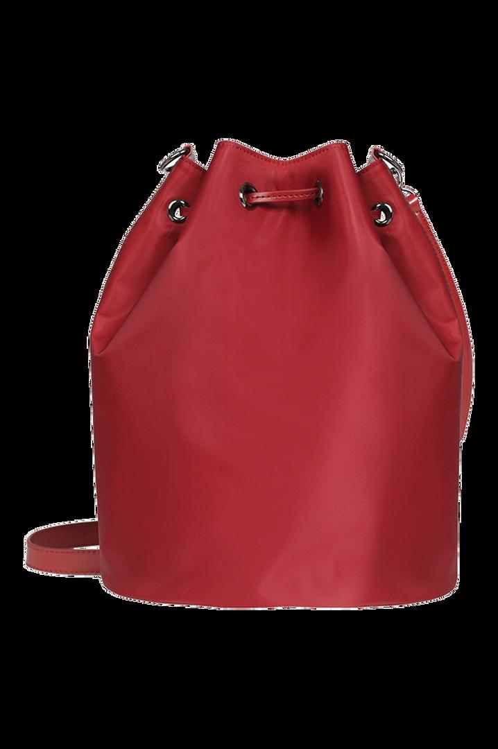 Lady Plume Bucket Bag M Ruby | 4