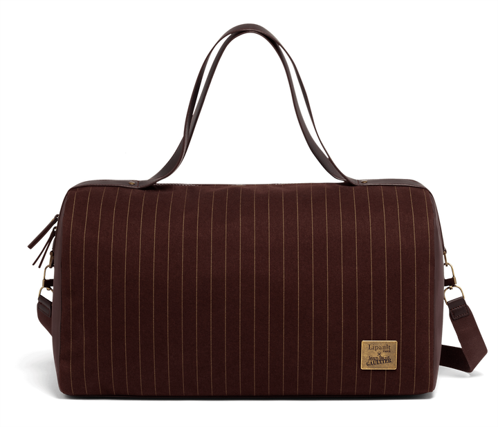 J.P. Gaultier Collab Ampli Duffle Bag  Burgundy   1