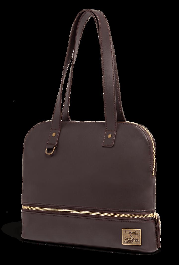 J.P. Gaultier Collab Swing Shopper Bag Burgundy | 4