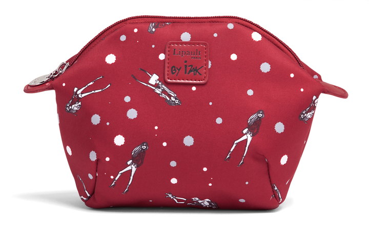 Izak Zenou Collab Cosmetic Pouch Pose/Garnet Red | 1