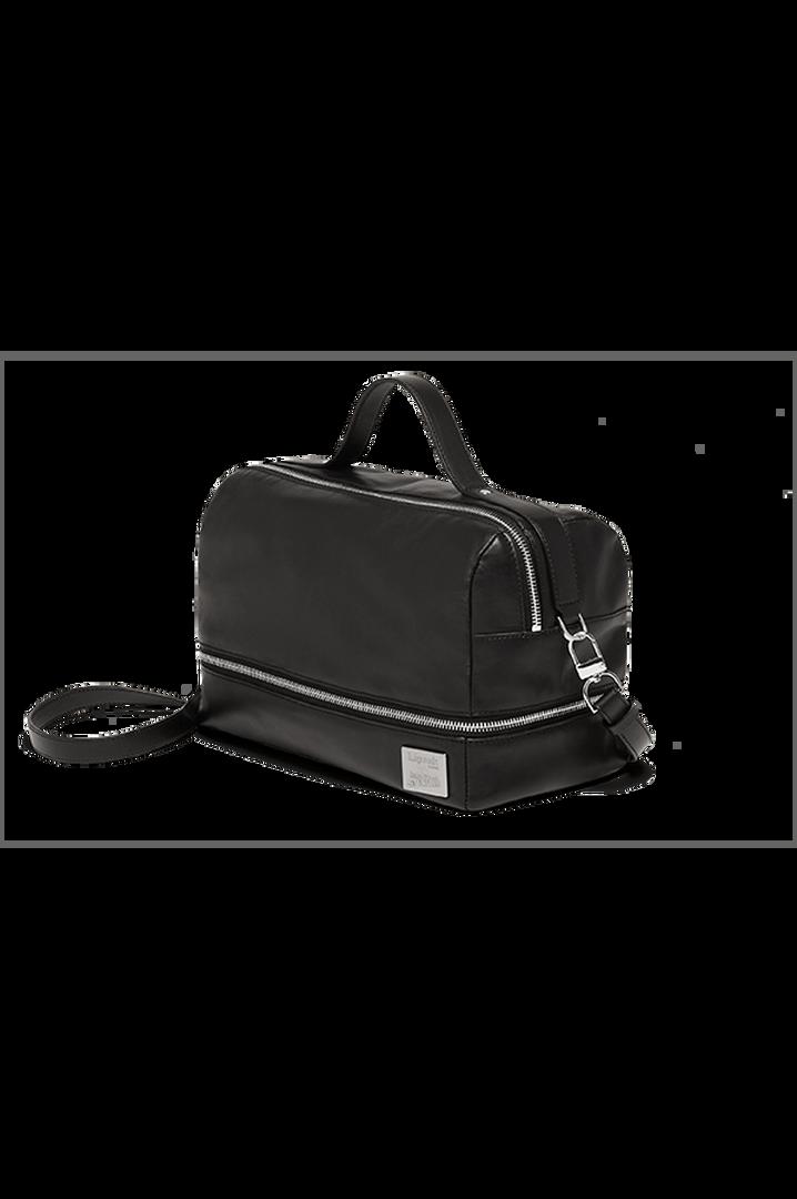 J.P. Gaultier Collab Compil Boston Bag Black   4