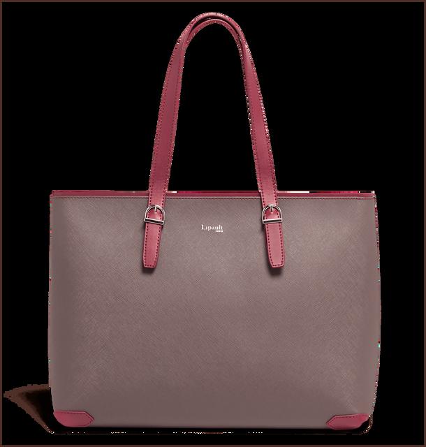 Variation Shopping bag Grey/Raspberry