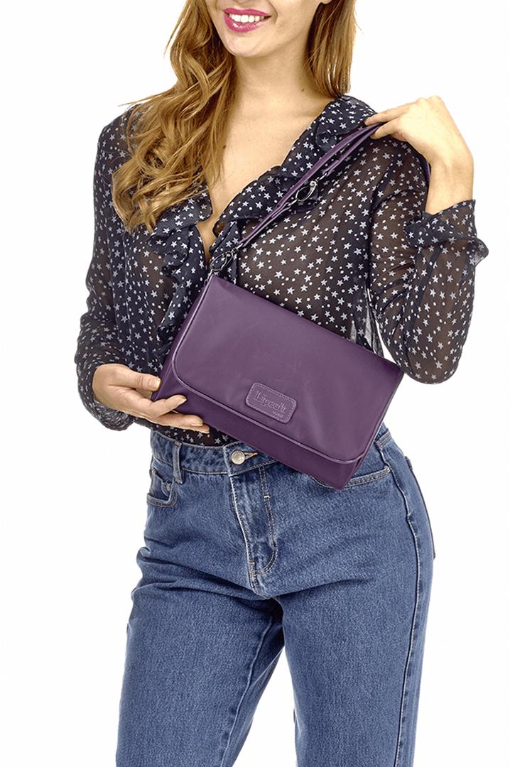 Lady Plume Clutch Bag M Purple | 4