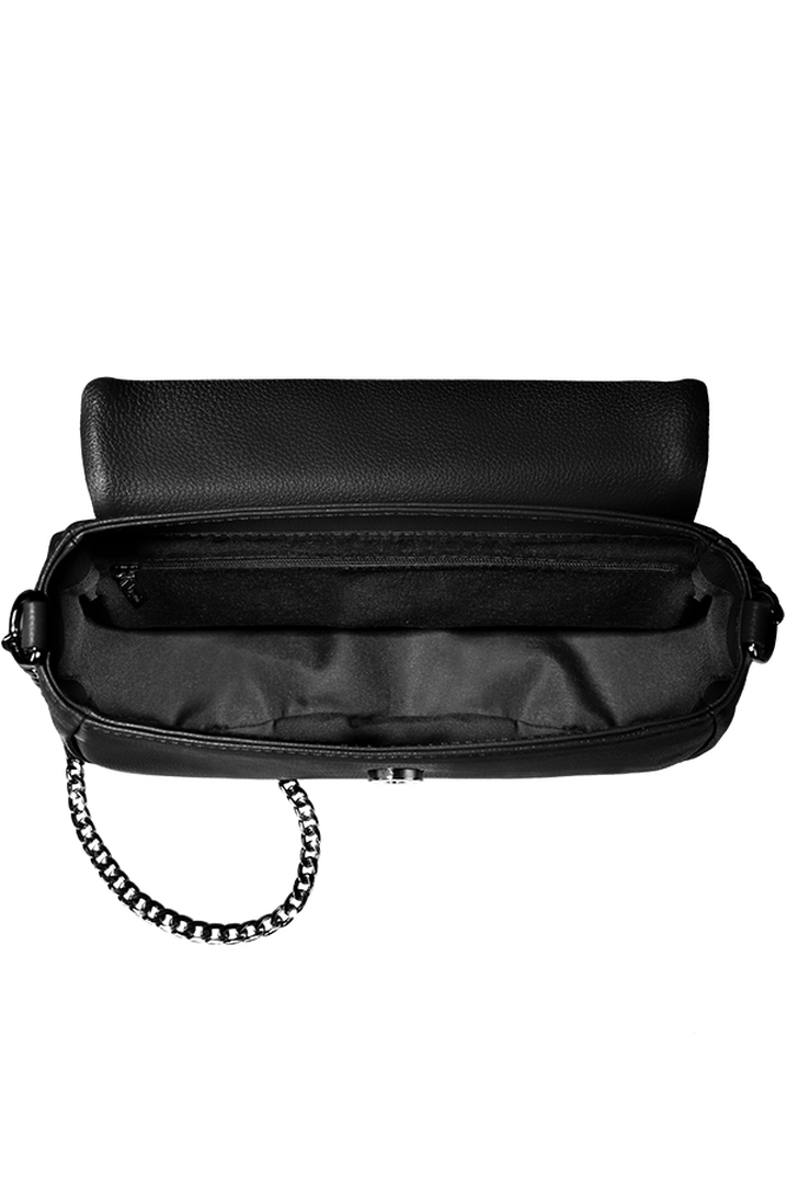 Plume Elegance Saddle Bag Black | 2