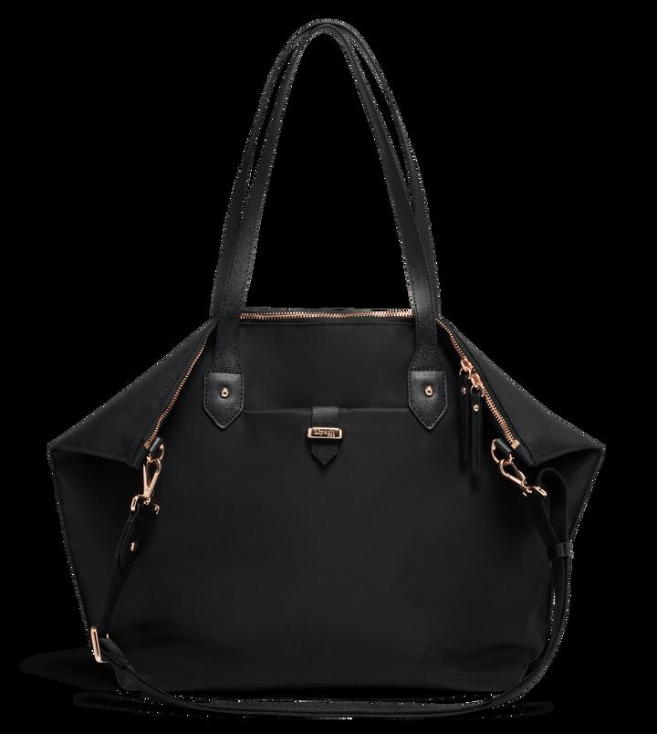 Plume Avenue Shopping bag  Jet Black | 1