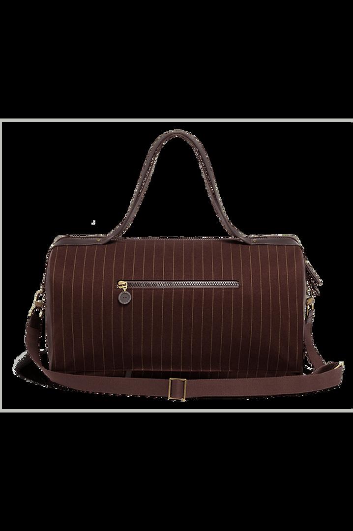 J.P. Gaultier Collab Ampli Duffle Bag Burgundy | 2