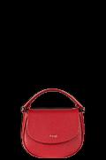 Plume Elegance Handbag Ruby