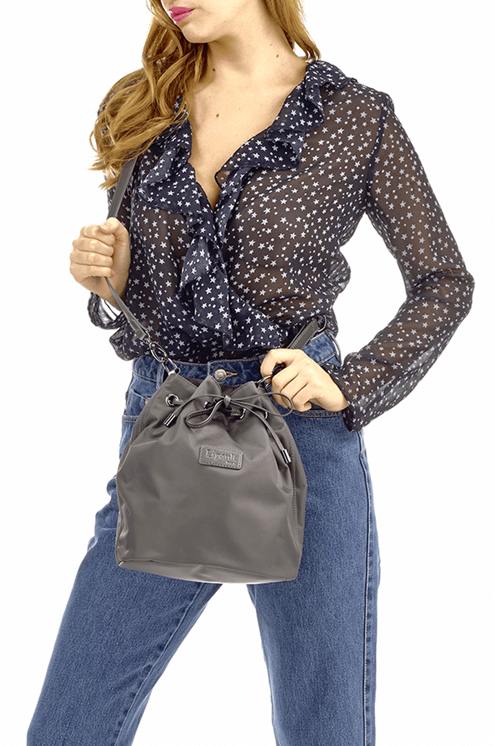 Lady Plume Bucket Bag S Anthracite Grey | 3