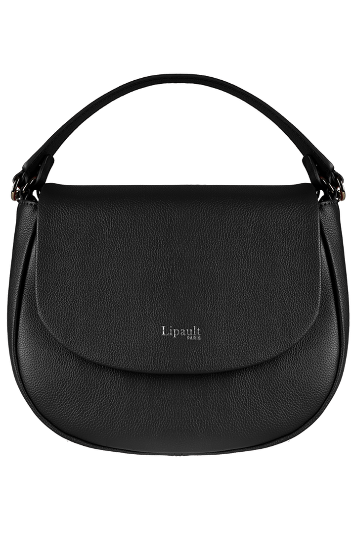 Plume Elegance Saddle Bag Black | 1