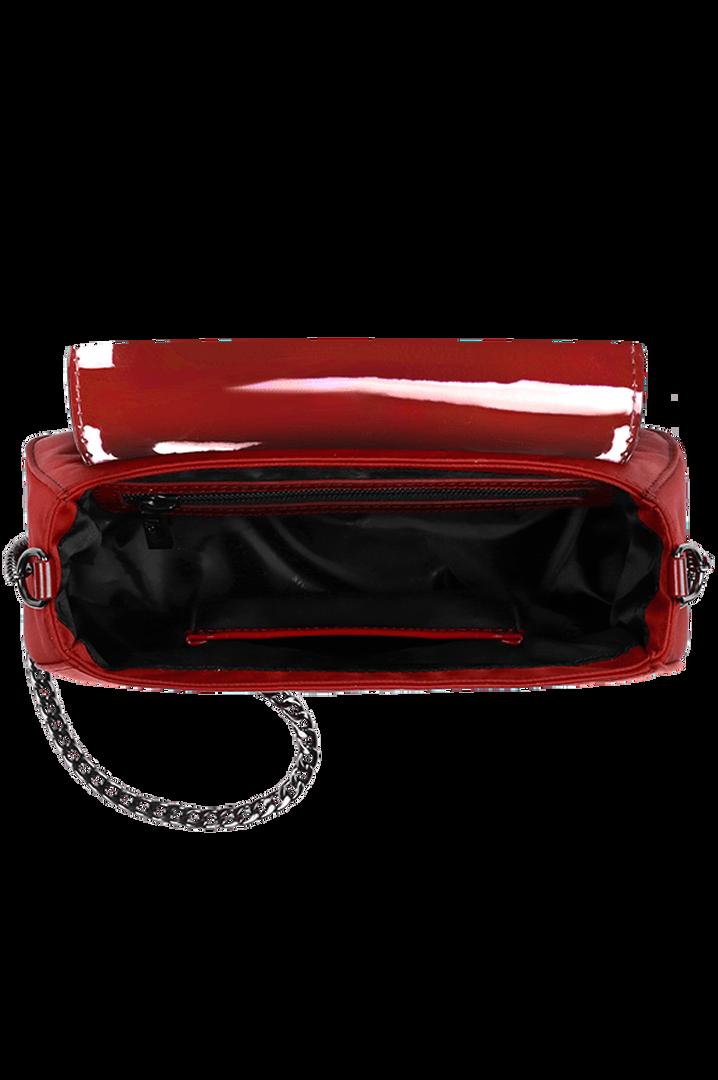 Plume Vinyle Handbag Ruby | 2