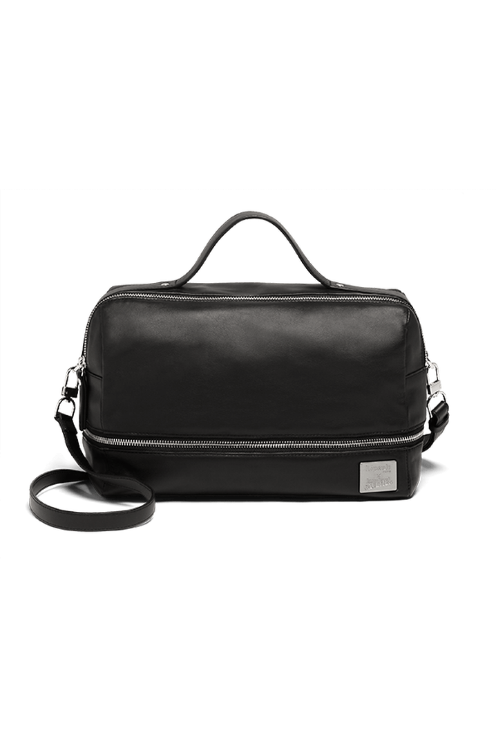 J.P. Gaultier Collab Compil Boston Bag Black   1