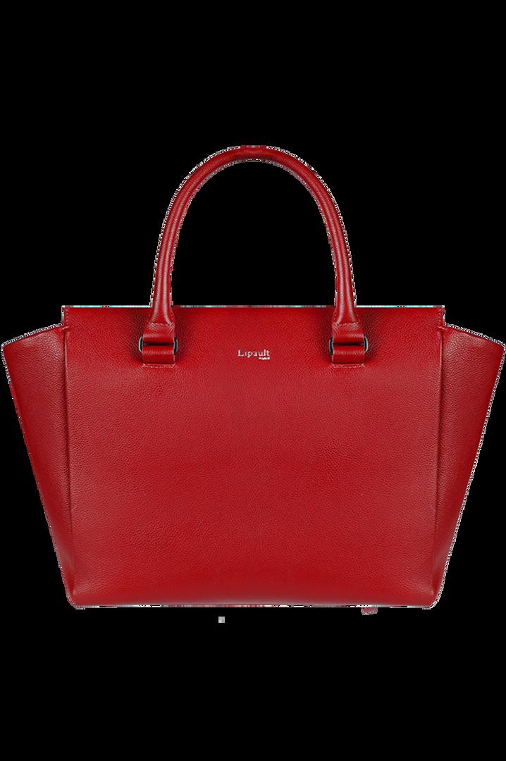 Plume Elegance Satchel Bag Ruby | 6