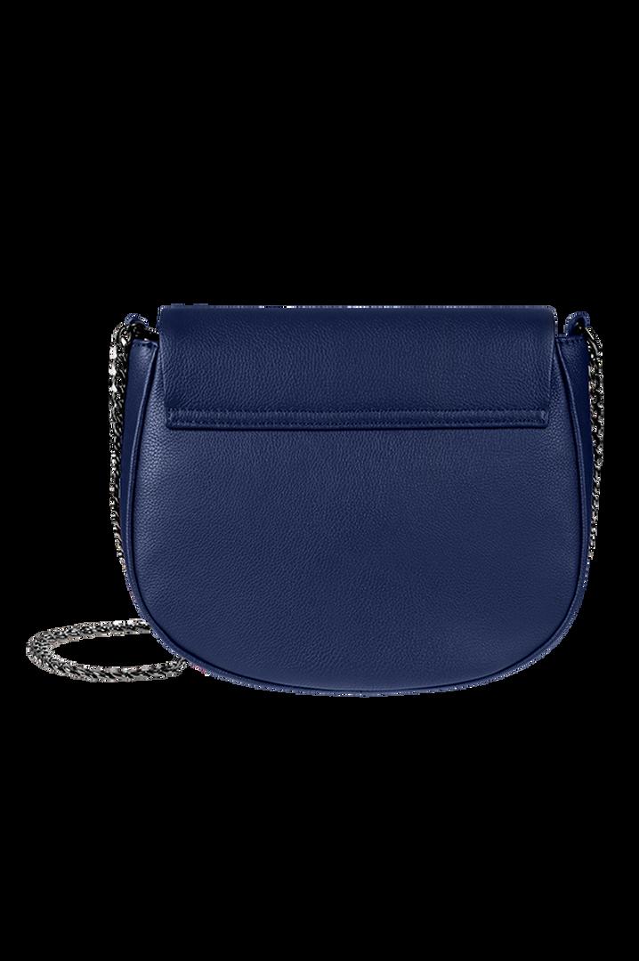Plume Elegance Saddle Bag Navy | 4