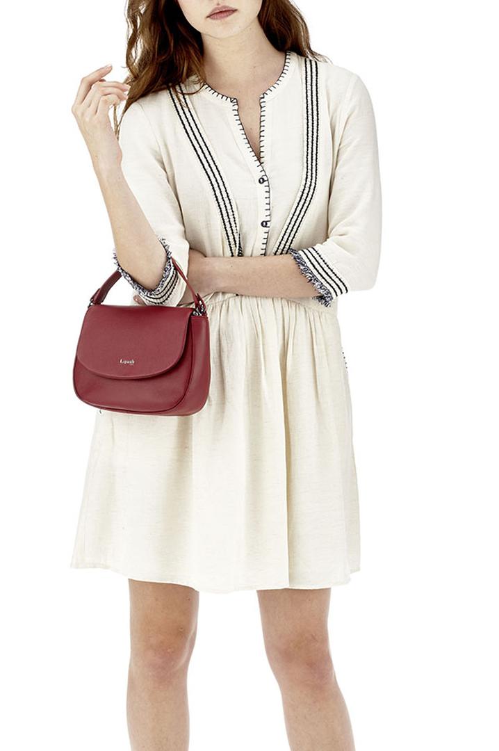 Plume Elegance Saddle Bag Ruby | 3