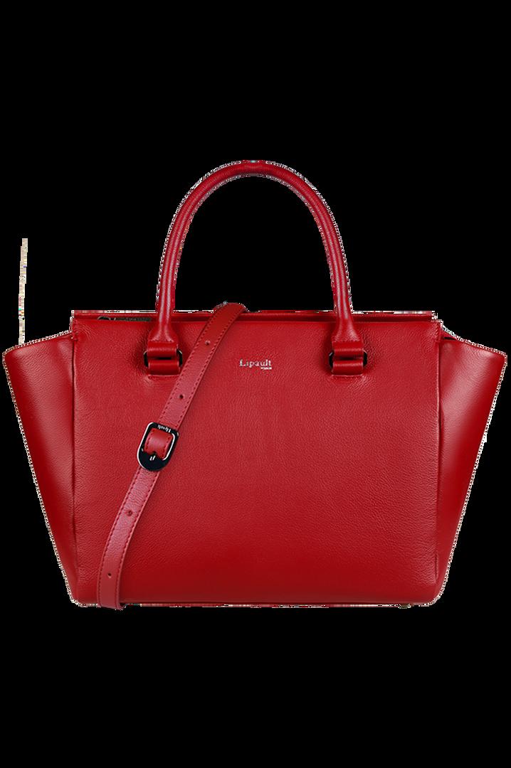 Plume Elegance Satchel Bag Ruby | 5