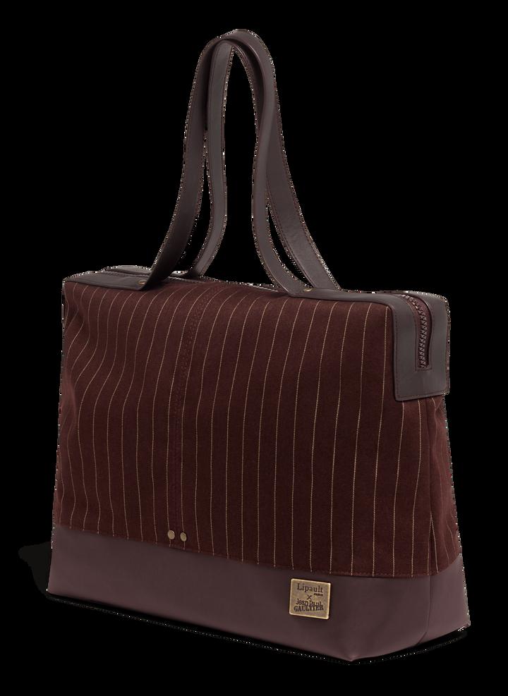 J.P. Gaultier Collab Ampli Shopping bag Burgundy | 3
