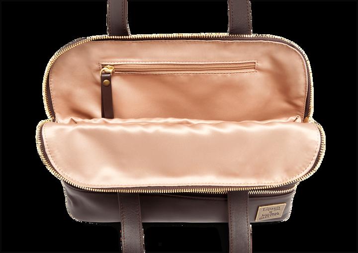 J.P. Gaultier Collab Swing Shopper Bag Burgundy | 2