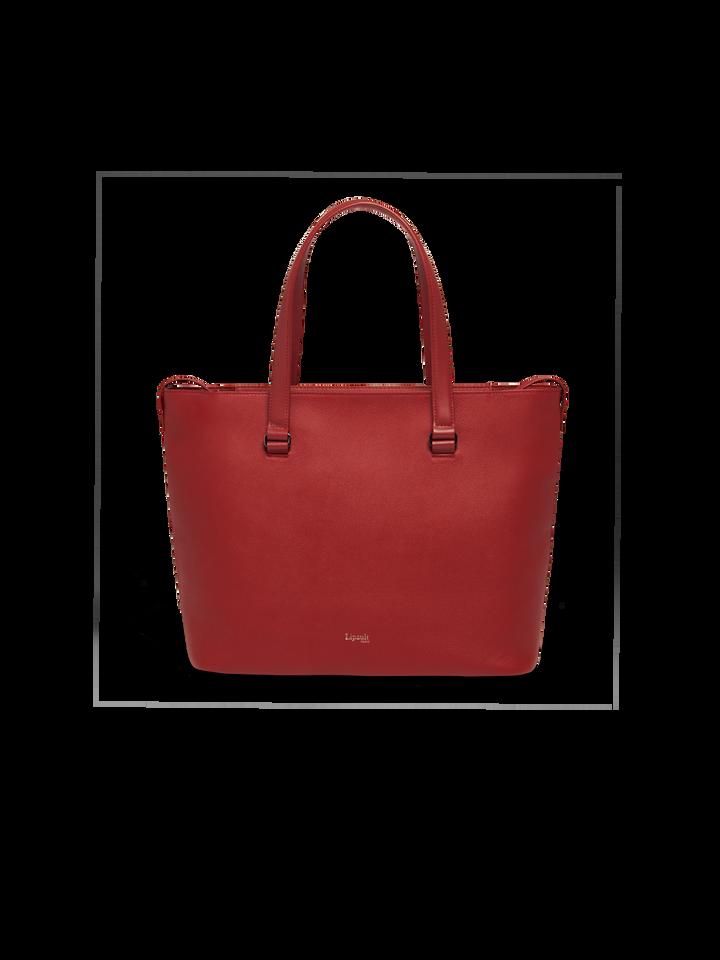 Plume Elegance Shopping bag L Ruby | 1
