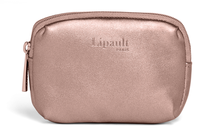 Miss Plume Coin Case  Pink Gold | 1