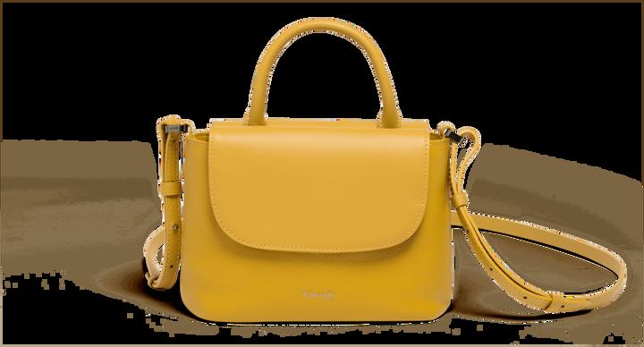 Plume Elegance Handbag  Mustard | 1