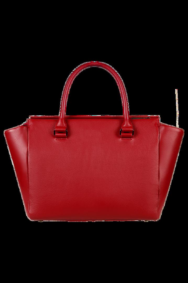 Plume Elegance Satchel Bag Ruby | 4