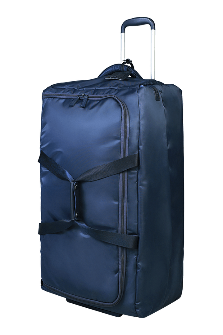 Pliable Duffle with wheels 78cm Navy | 5