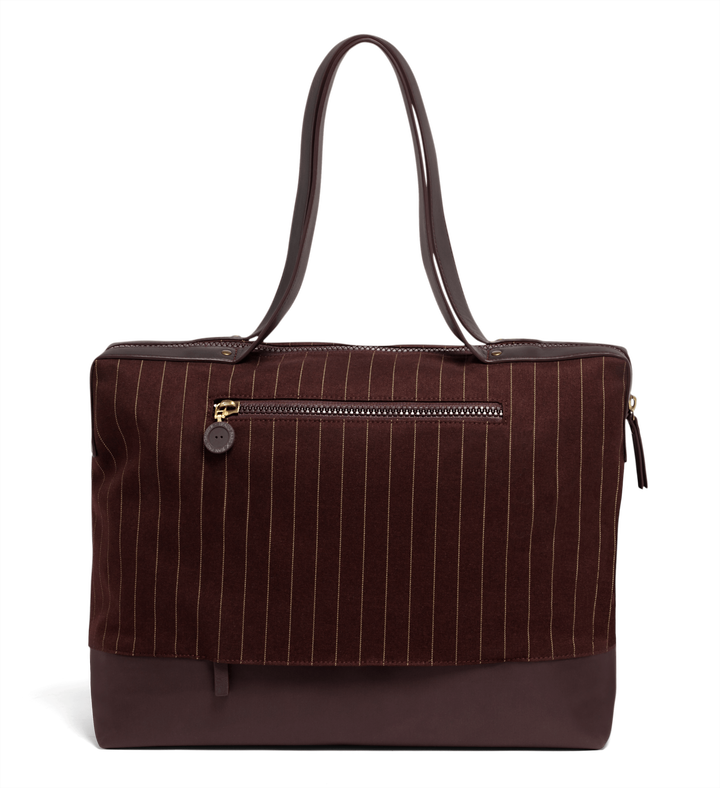 J.P. Gaultier Collab Ampli Shopping bag Burgundy | 2