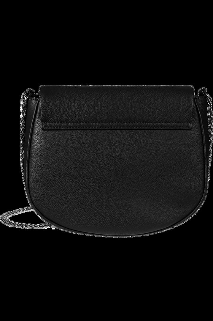 Plume Elegance Saddle Bag Black | 4
