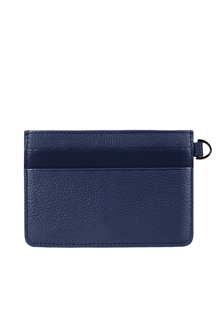 Plume Elegance Credit Card Holder Navy | 3