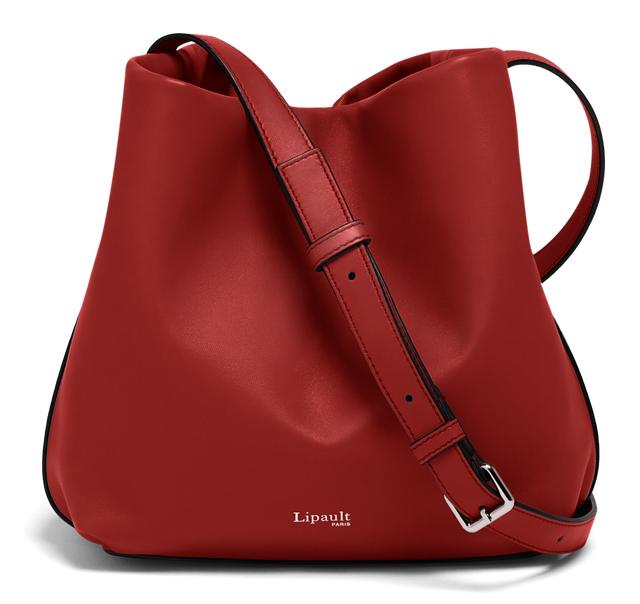 By The Seine Bucket Bag Cherry Red