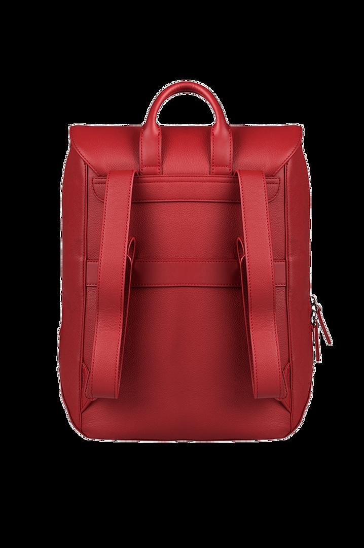 Plume Elegance Laptop Backpack M Ruby   3