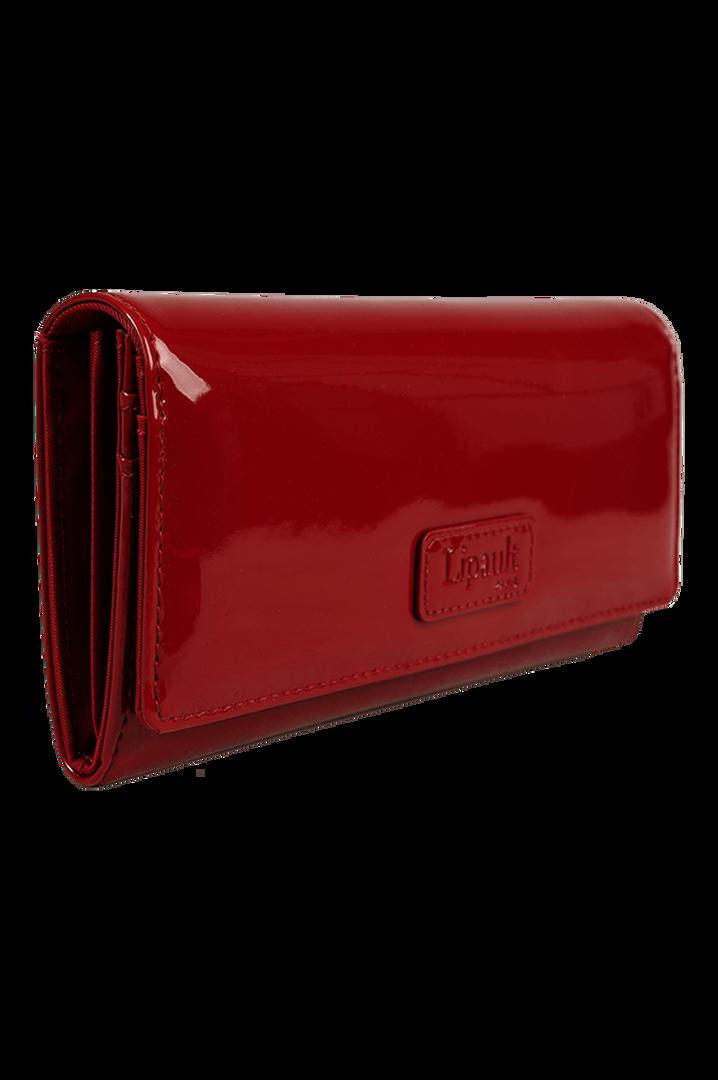 Plume Vinyle Wallet Ruby   3