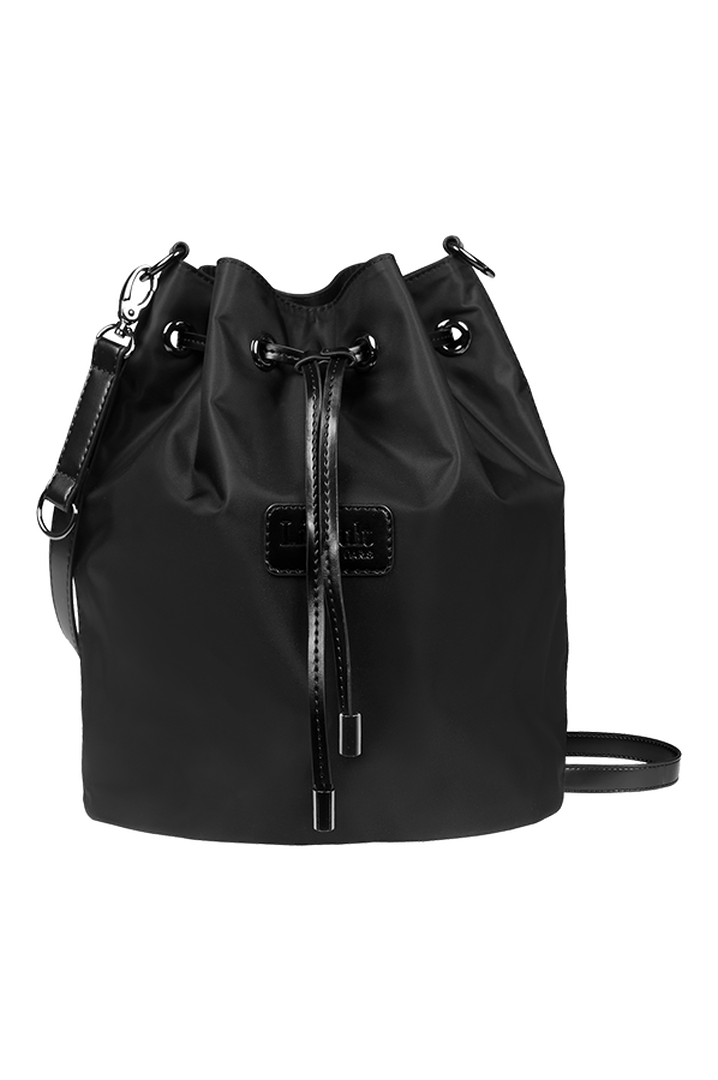 Lady Plume Bucket Bag S Black | 1