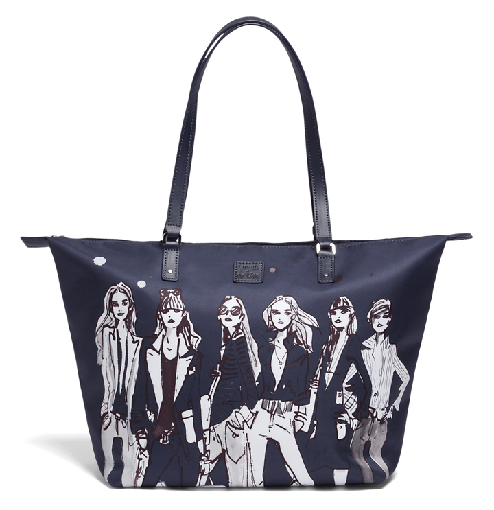 Izak Zenou Collab Shopping bag M Pose/Night Blue | 1