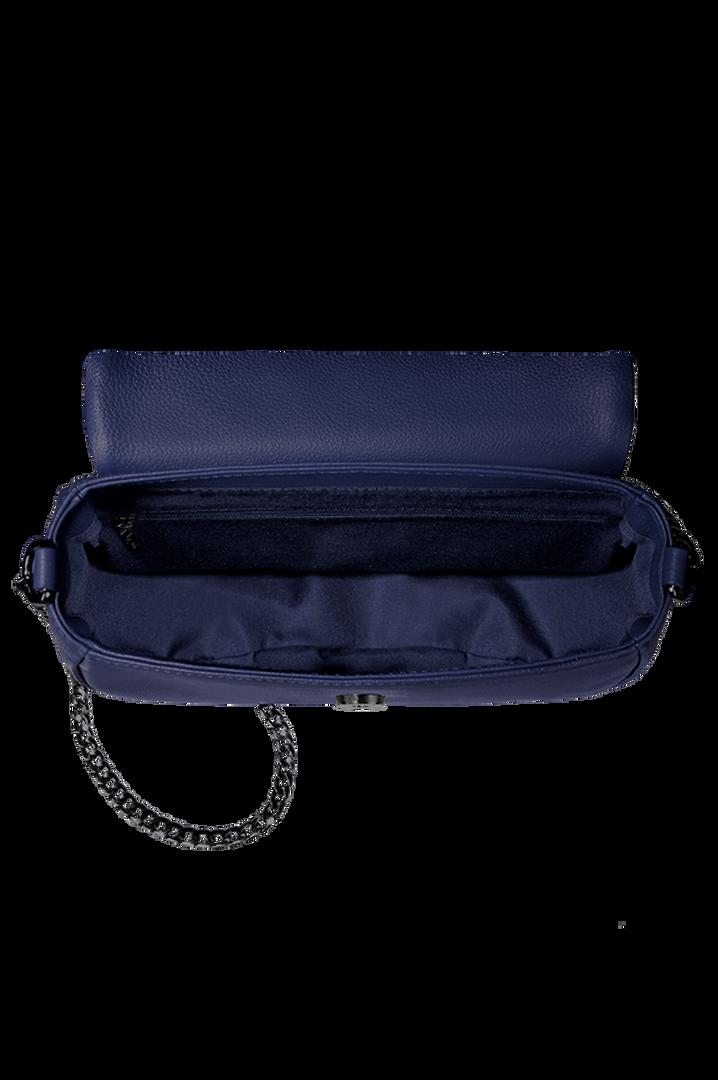 Plume Elegance Saddle Bag Navy | 2