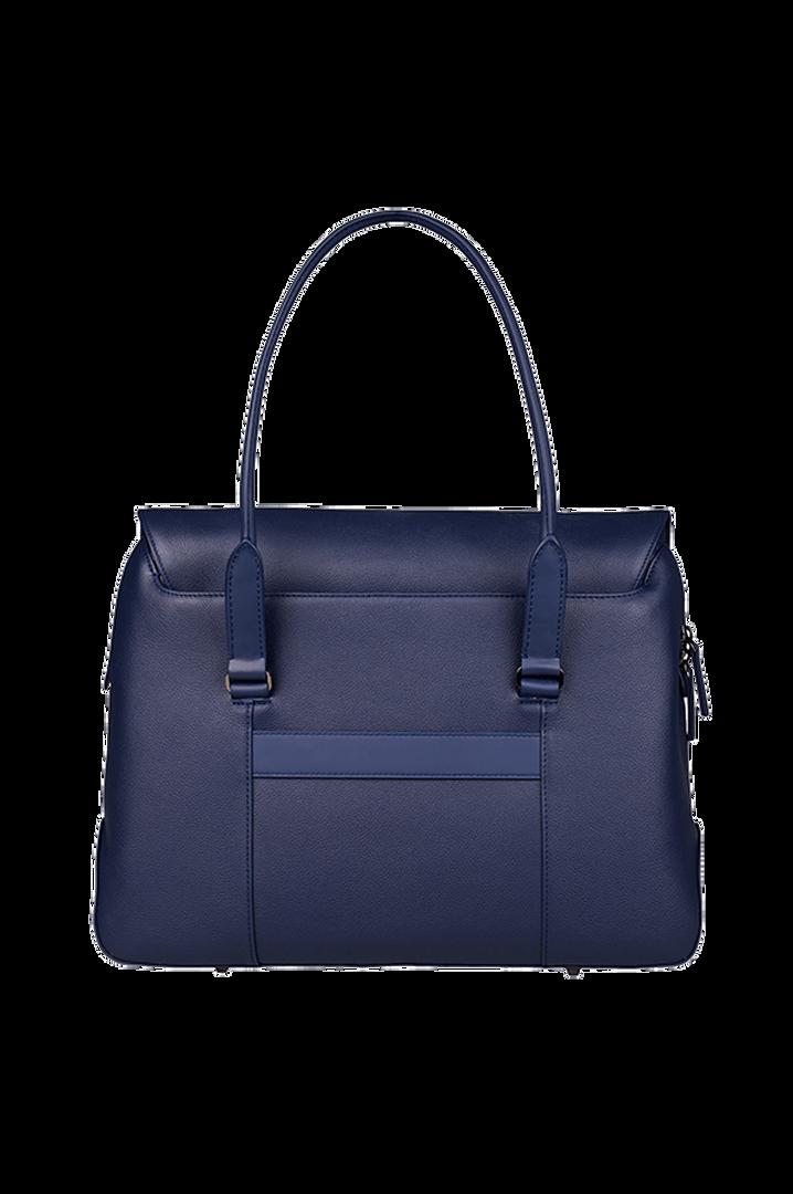 Plume Elegance Briefcase Navy   3
