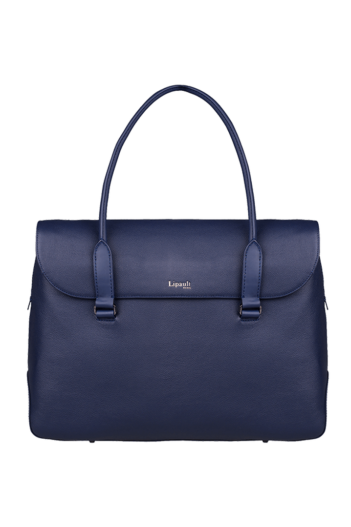 Plume Elegance Briefcase Navy   1