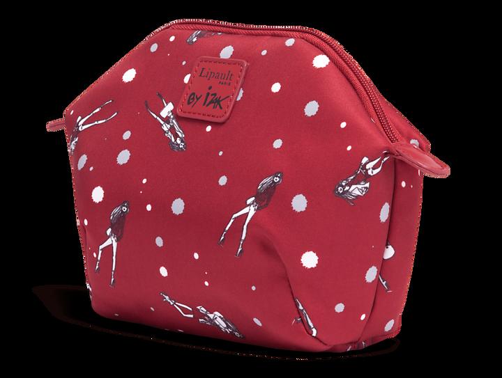 Izak Zenou Collab Cosmetic Pouch Pose/Garnet Red   2