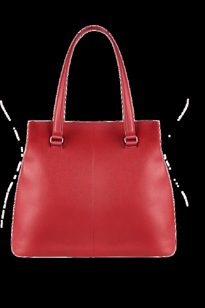 Plume Elegance Shopping bag L Ruby | 2