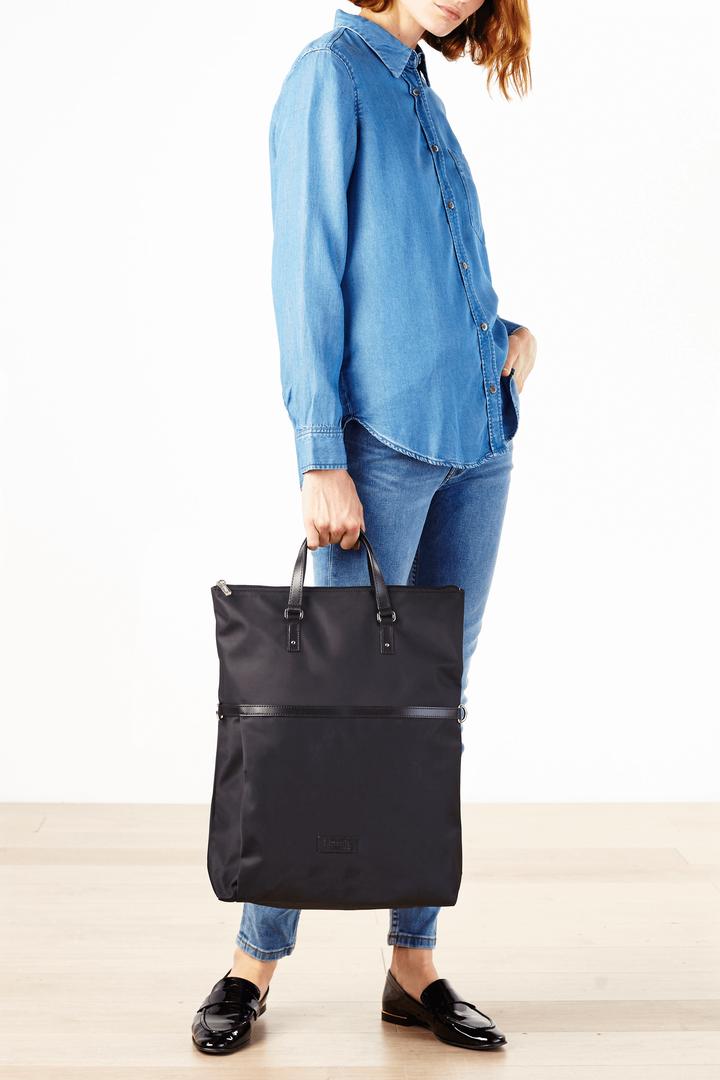 Lady Plume Shopping bag Navy   3