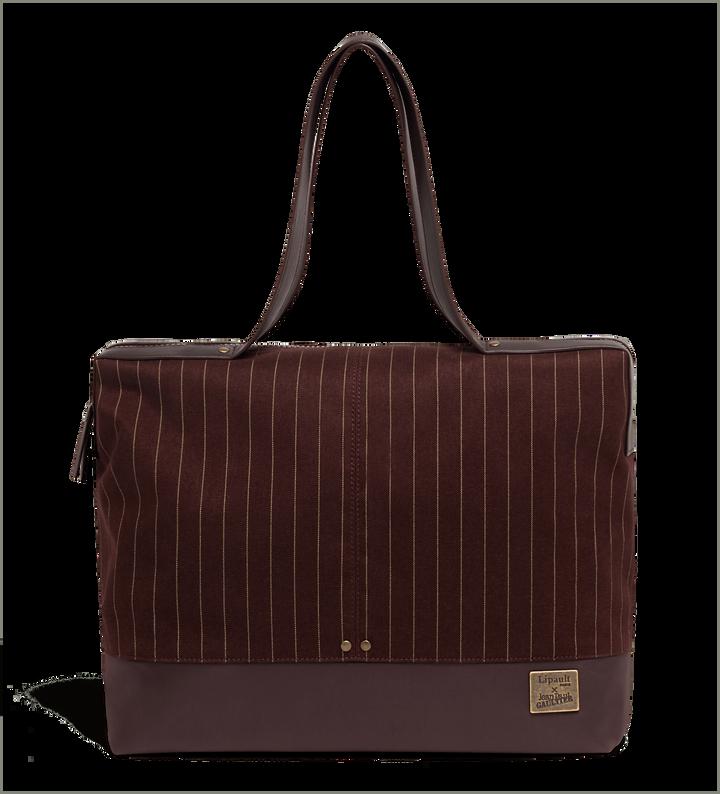 J.P. Gaultier Collab Ampli Shopping bag Burgundy | 1