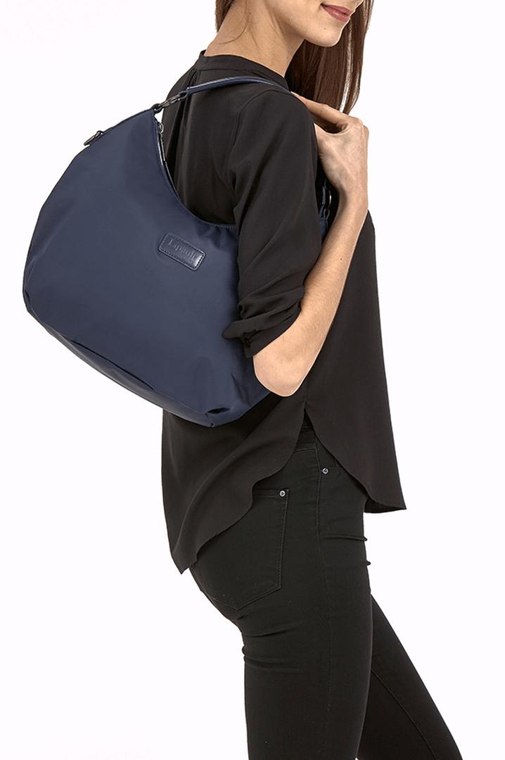 Lady Plume Hobo bag S Navy | 3
