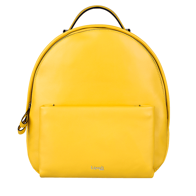 By The Seine Backpack Lemon Yellow