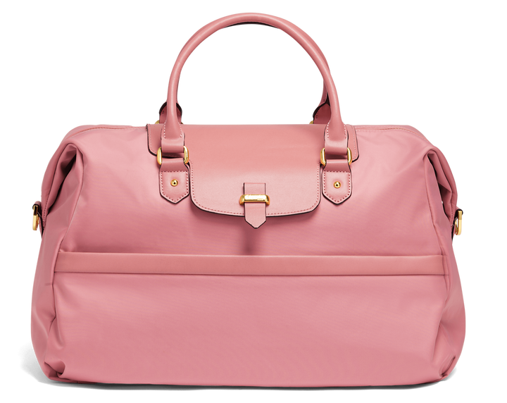 Plume Avenue Duffle Bag  Azalea Pink   1