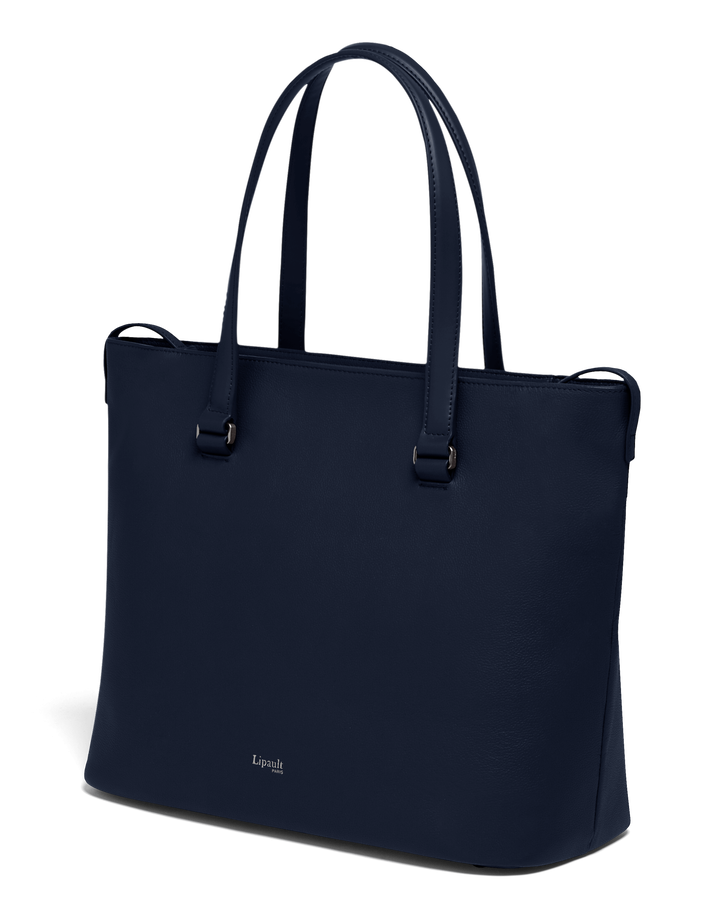 Plume Elegance Shopping bag L Navy | 4