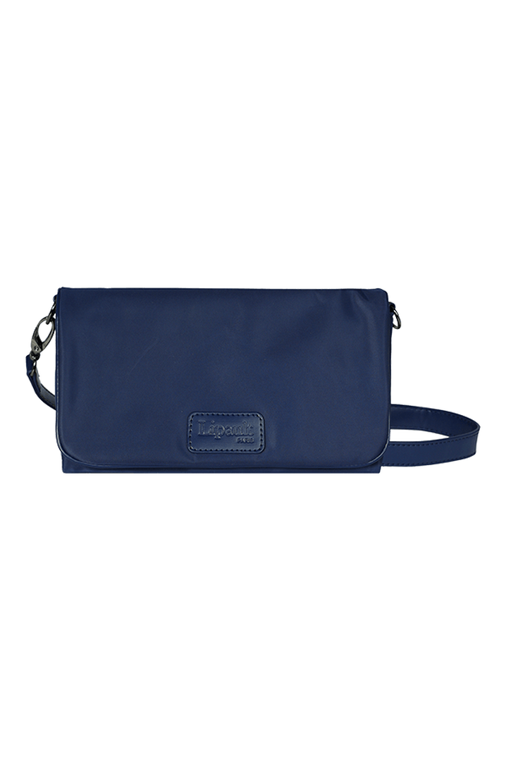 Lady Plume Clutch Bag M Navy | 1