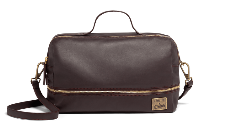 J.P. Gaultier Collab Compil Boston Bag Burgundy | 1